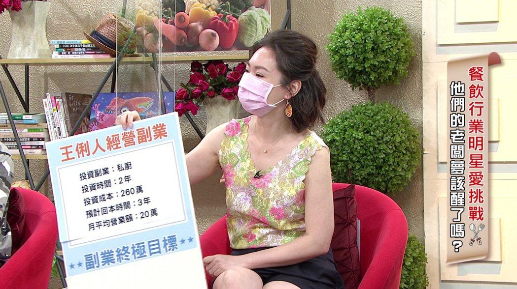 王俐人推出外帶餐盒卻被客人打槍。圖/年代MUCH提供