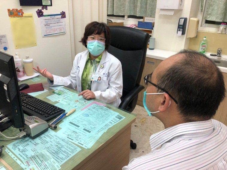 衛生福利部基隆醫院神經內科李亭儀醫師指出,偏頭痛具有遺傳傾。圖/部立基隆醫院提供