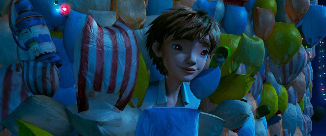 「廢棄之城」請來知名藝人配音助陣,少年主角由黃河獻聲。圖/牽猴子提供