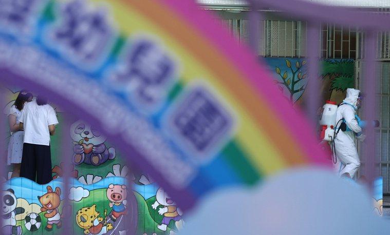 新北市幼兒園群聚案已累計30人染疫。 圖/聯合報系資料照片