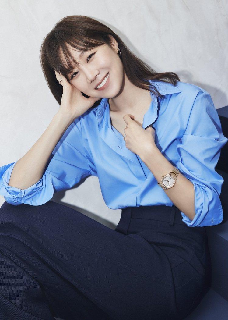 韓國女星孔曉振除了演藝成就有目共睹,更在2019年成為伯爵亞太品牌大使。圖 / ...