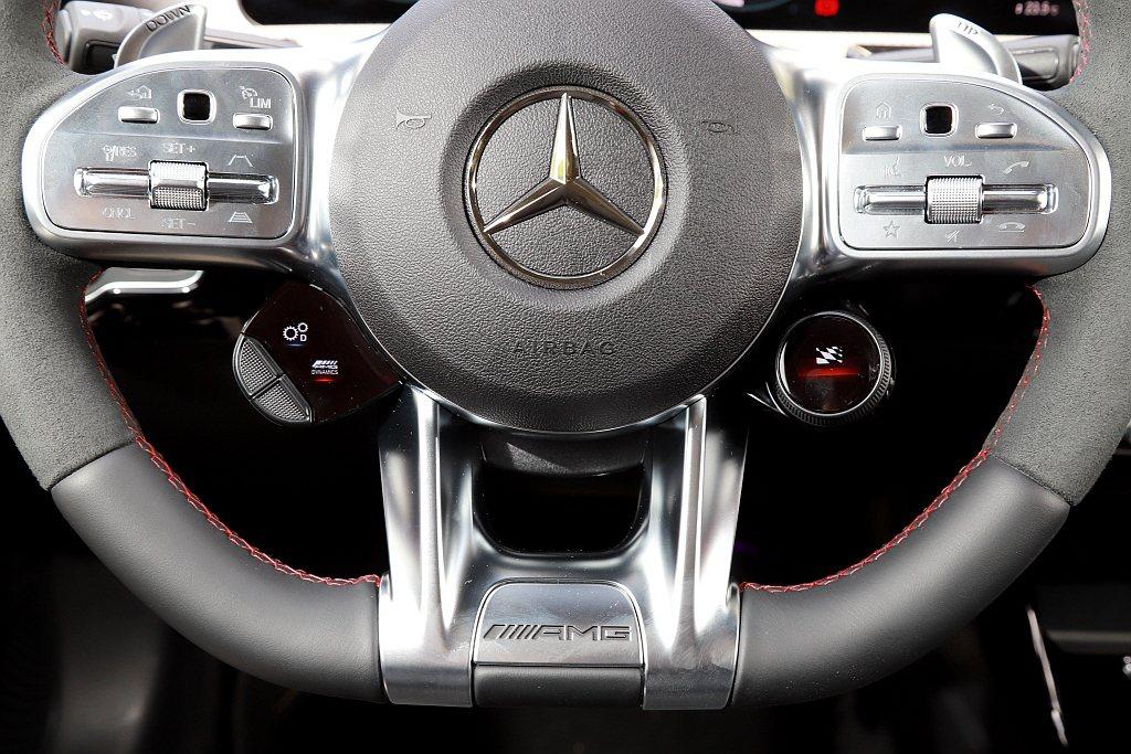 Mercedes-AMG CLA 45 S 4MATIC+的AMG高性能平底跑車...