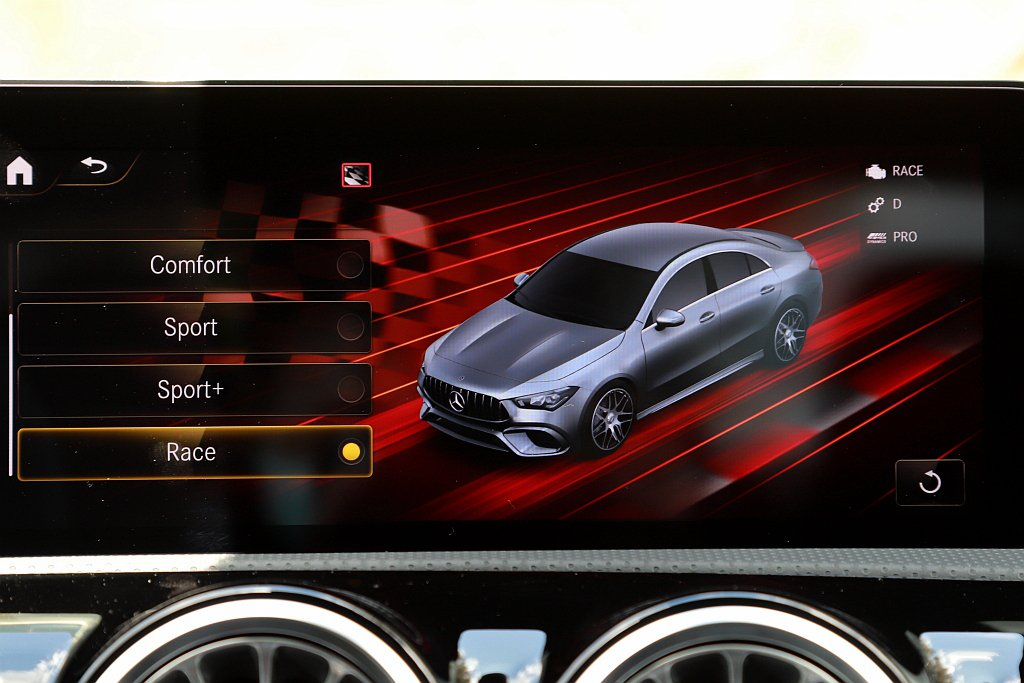 新世代AMG Dynamic Select動態模式提供Slippery、Indi...