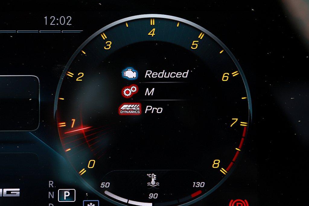 Mercedes-AMG CLA 45 S 4MATIC+上還能細膩地選擇Bas...