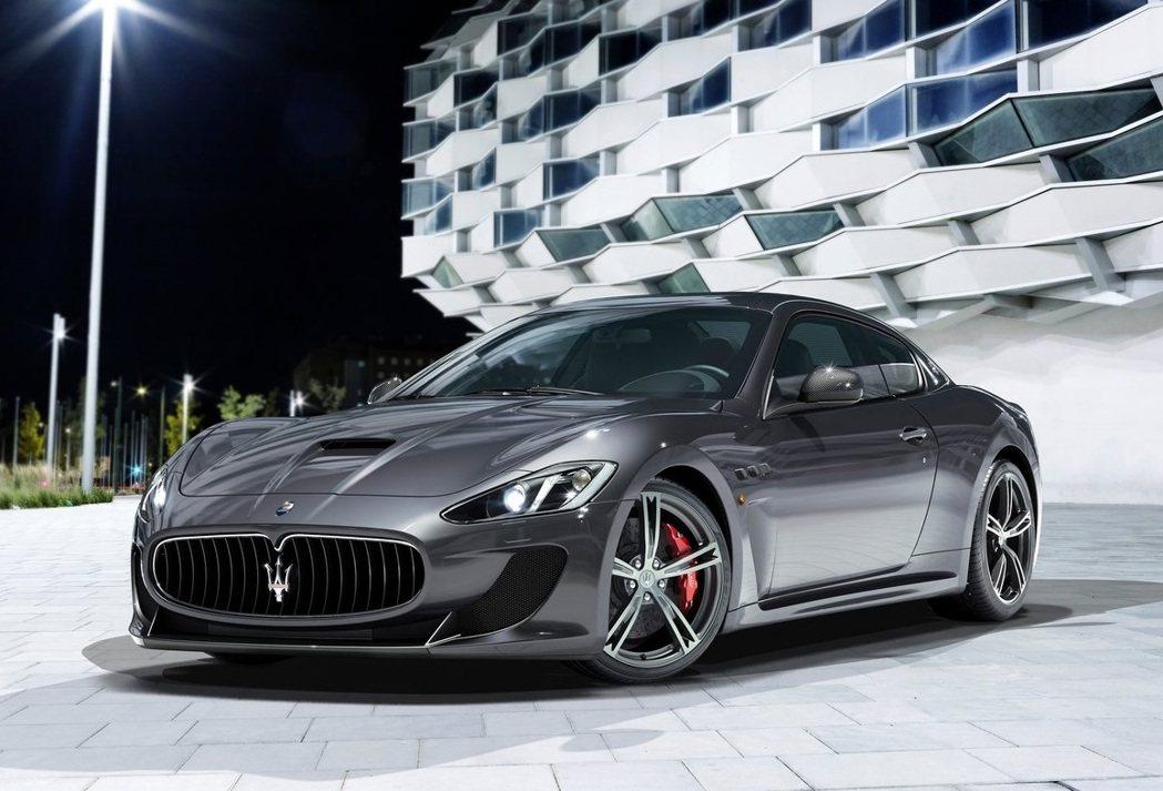 Maserati GranTurismo MC Stradale。  摘自Ma...