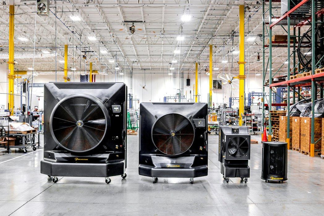 冷鋒Cold Front冷卻扇具備三項優勢,覆蓋範圍廣、降溫速度快並高效節能。 ...