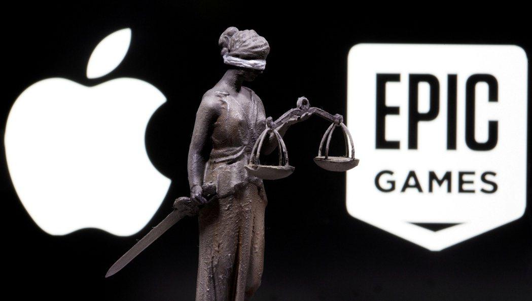 按蘋果與「要塞英雄」(Fortnite)遊戲開發商Epic Games的反托辣斯...