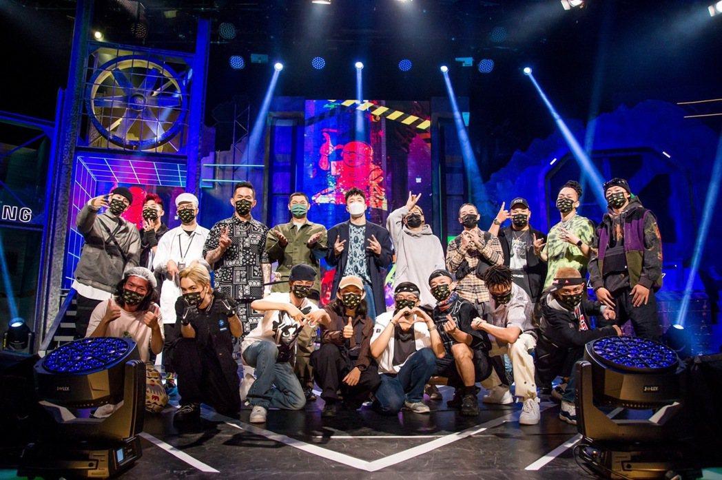 「大嘻哈」已成頂尖好手的對決舞台。圖/三立提供