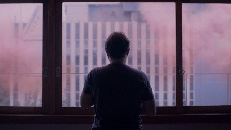 「粉紅雲」描述粉紅毒霧籠罩全球,人們的心理也跟著產生變化。圖/高雄電影節提供