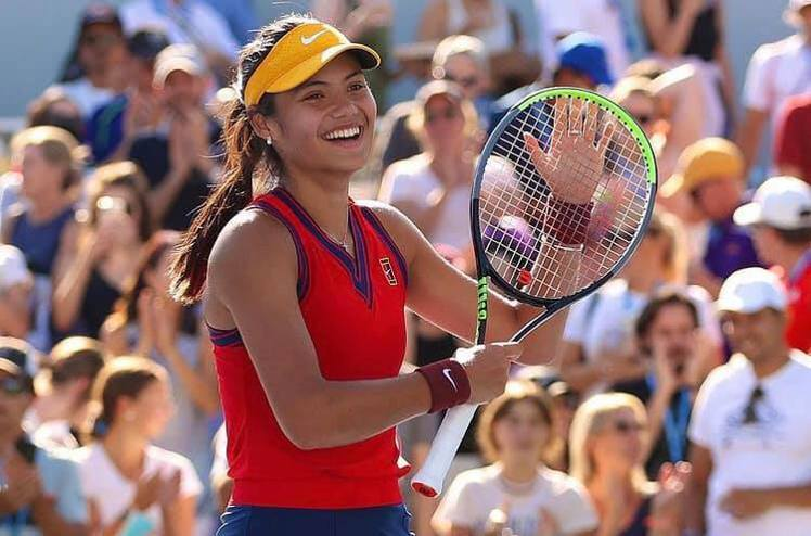 2021美國網球公開賽女子單打冠軍Emma Raducanu。圖/摘自insta...