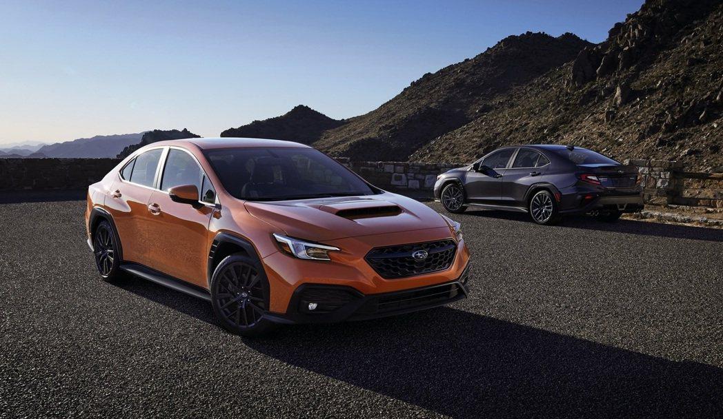 全新一代Subaru WRX美規車型發表。 摘自Subaru