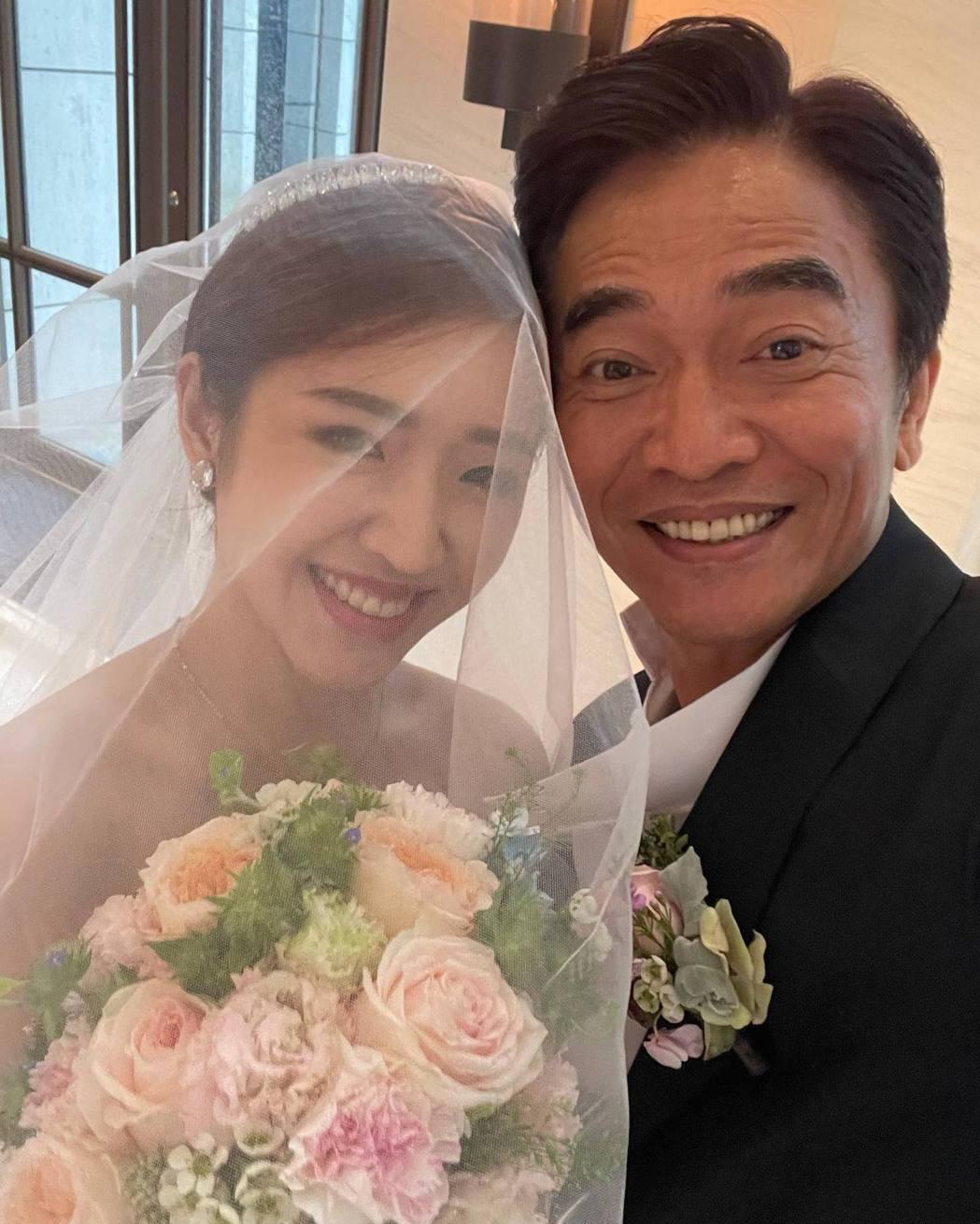 吳宗憲與二女兒Vivian合照。 圖/擷自吳宗憲臉書