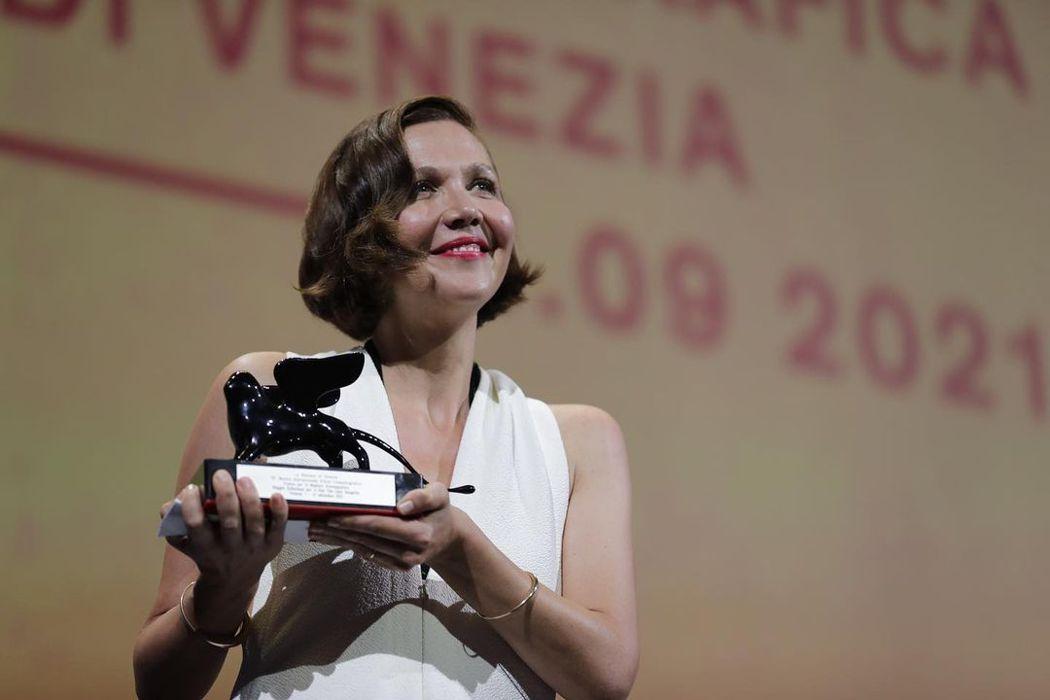 瑪姬葛倫霍拿下最佳劇本獎。圖/摘自IG