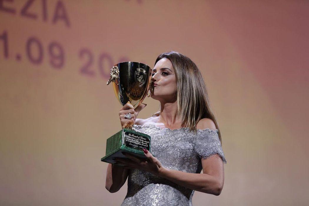 潘妮洛普克魯茲榮登本屆威尼斯影展最佳女主角。圖/摘自IG