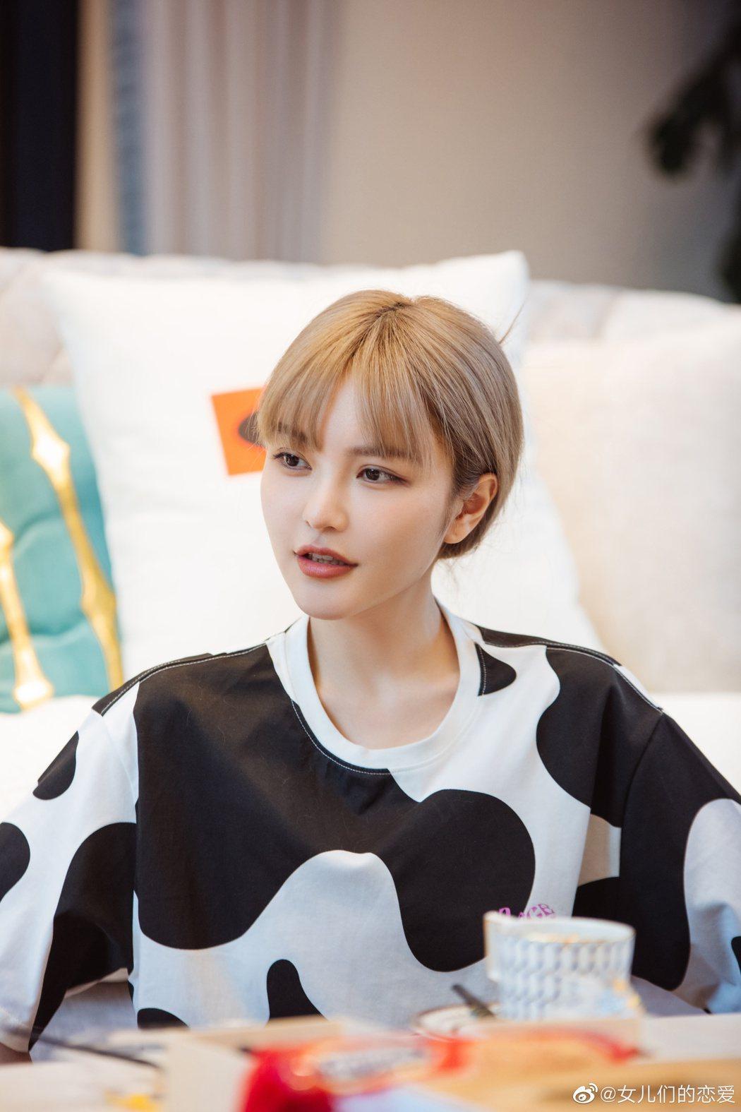 周揚青自認並非大眾喜歡的溫柔女生。圖/摘自微博