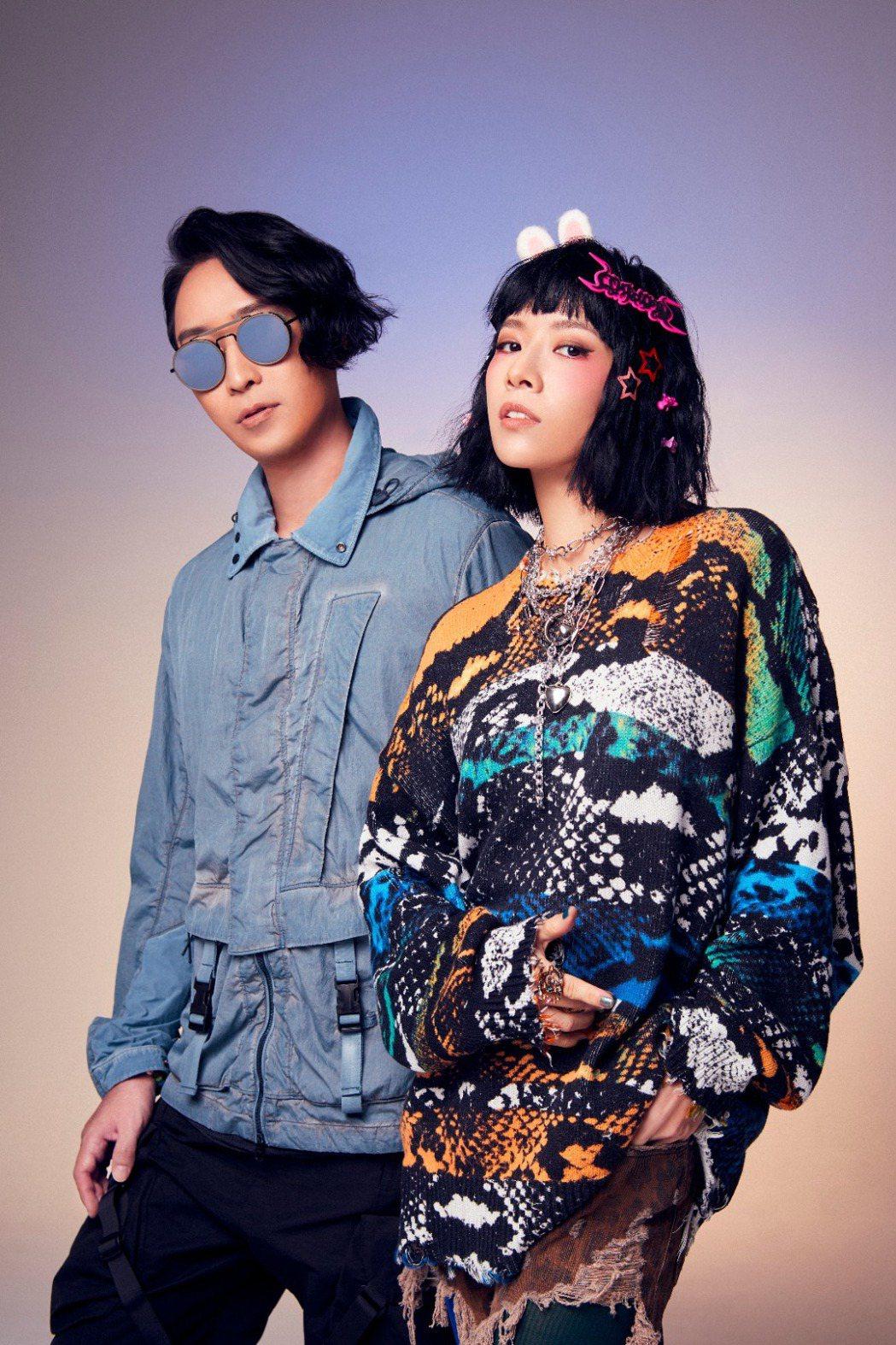 原子邦妮推出新歌「難道只有我覺得」。圖/滾石唱片提供