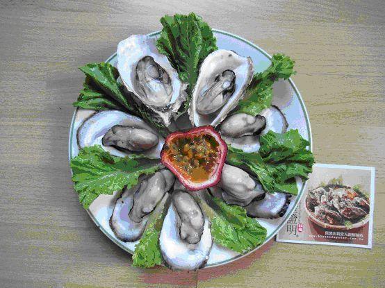 牡蠣又被稱為「海底牛奶」,營養豐富。 圖/馮嫦慧提供