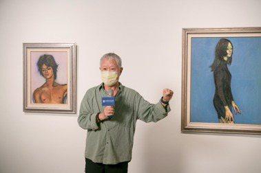 蔣勳說,席德進畫的人物,有些是上乘社會、有些是市井小民,如果把他的人物畫連接起來,可以看到台灣社會非常有趣的人物剖面。 圖/廖彥鈞攝影  *提醒您抽菸有礙健康