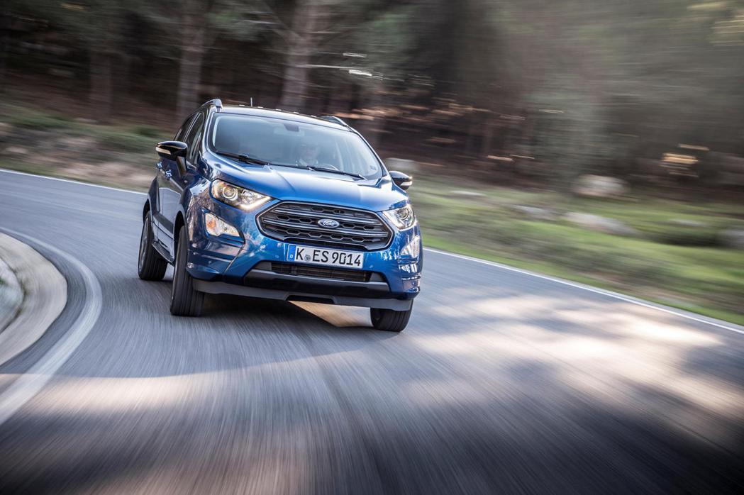 Ford EcoSport未來將在美國停售。 圖/Ford提供