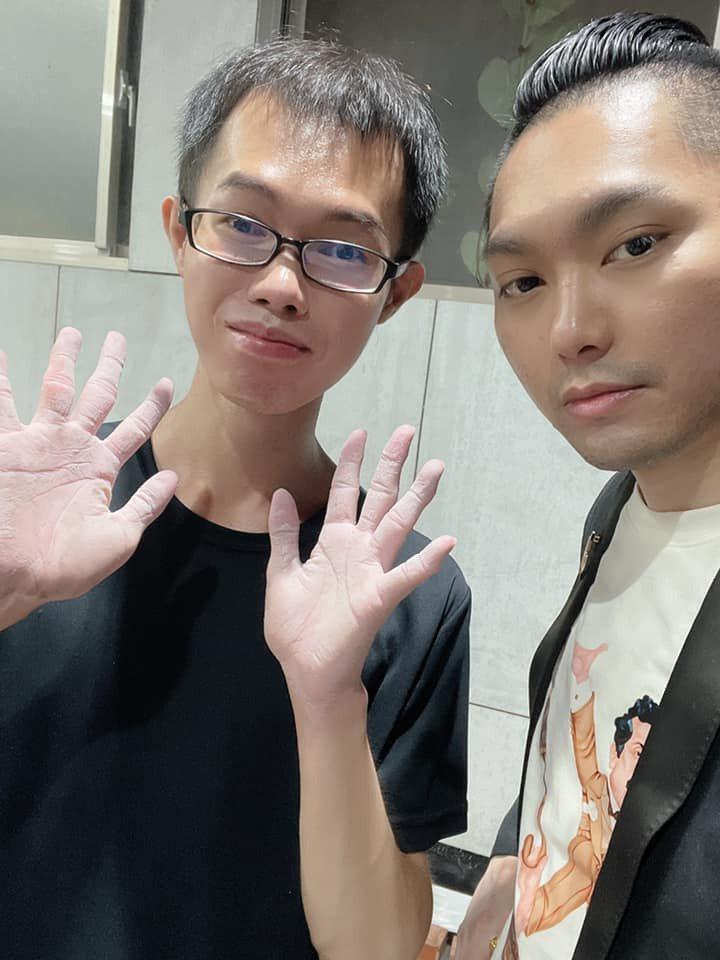鄧佳華已向連千毅提離職。 圖/擷自facebook。