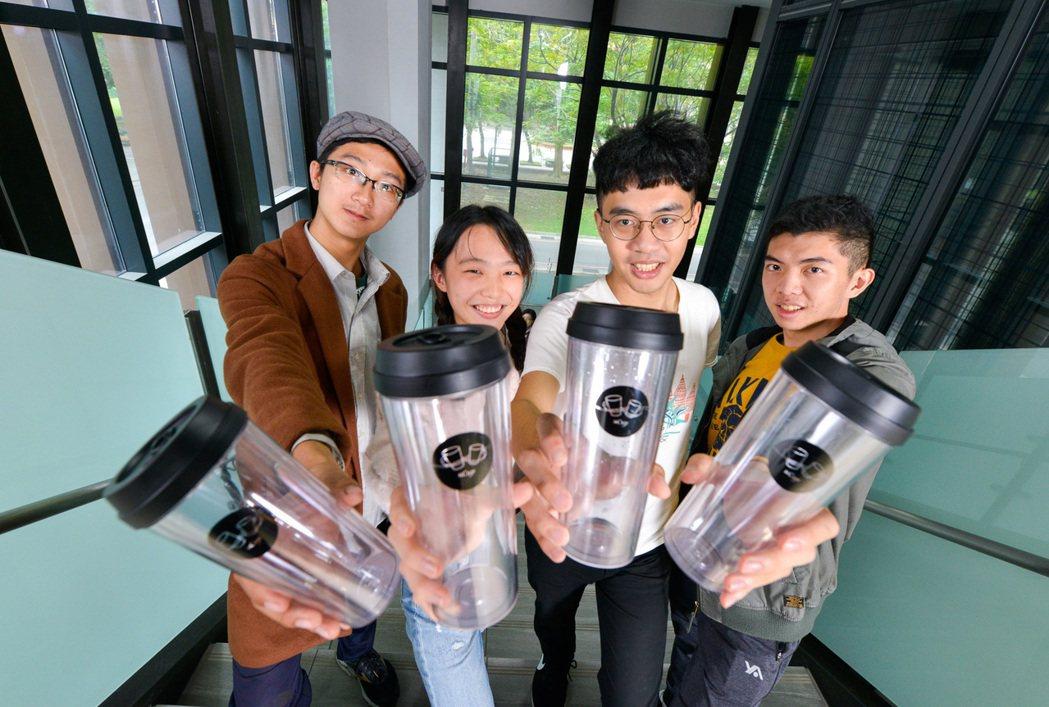 來自台灣大學的「uCup」循環租借杯平台,至今已替台大商圈減少1.3萬個免洗飲料...
