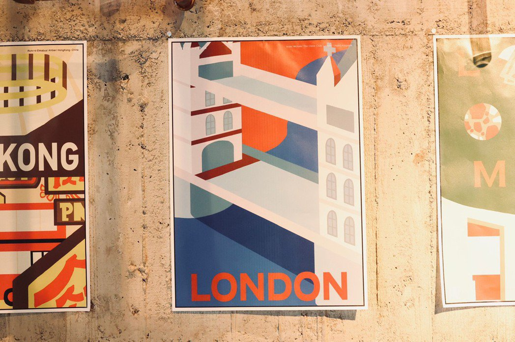 各城市限量海報以1930年代的復古「Jet-age Fantasy」為概念出發。...