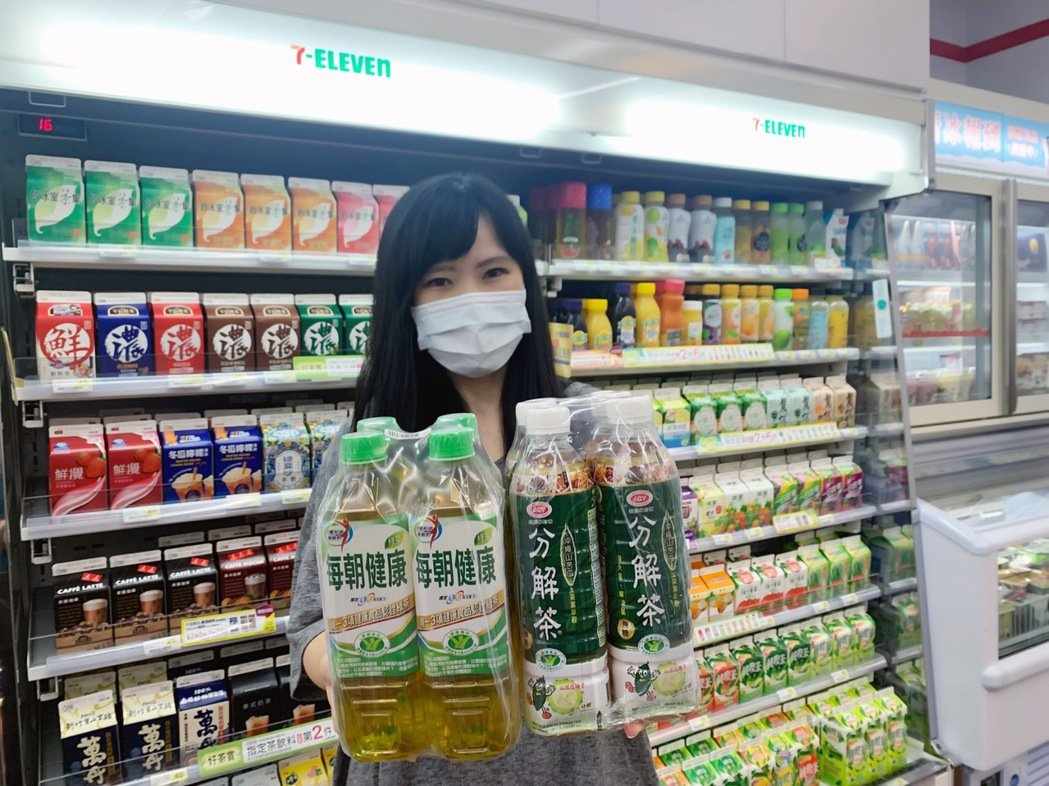 7-ELEVEN「中秋開心花」優惠,烤肉最解膩的每朝健康綠茶PET650及愛之味...