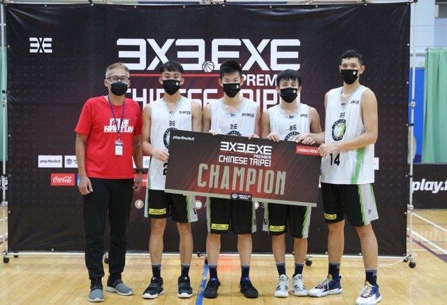 台中夢想家青年隊包辦南區前兩回合冠軍。圖/3X3.EXE提供