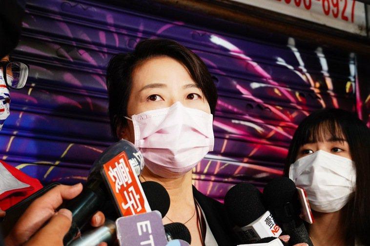 台北市副市長黃珊珊今出席活動前受訪。記者潘才鉉/攝影