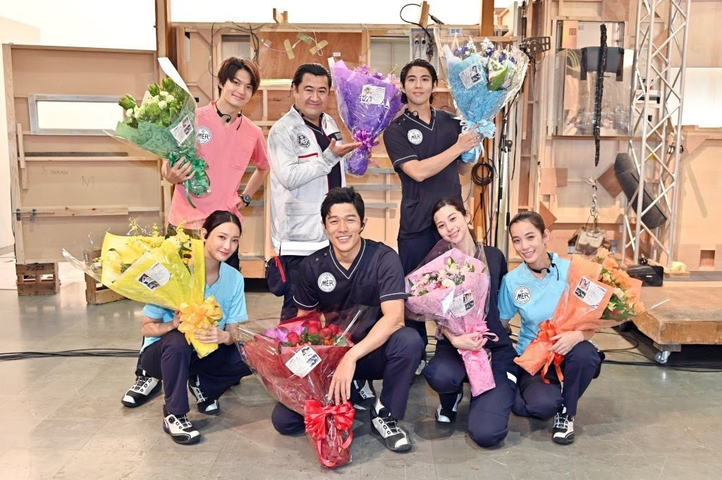 鈴木亮平以「TOKYO MER」再創演藝生涯代表作。圖/摘自推特