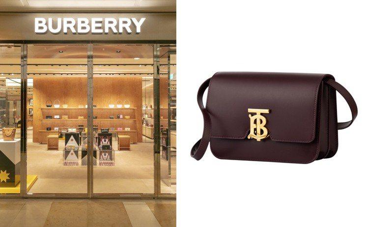 BURBERRY新光三越台中中港店的翻新擴建工程順利完成,並推出獨家色選包款。圖...