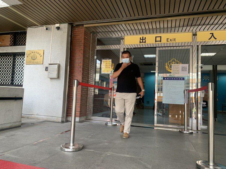 陳玉臺今出庭,對於限制出海無意見。記者蕭雅娟/攝影