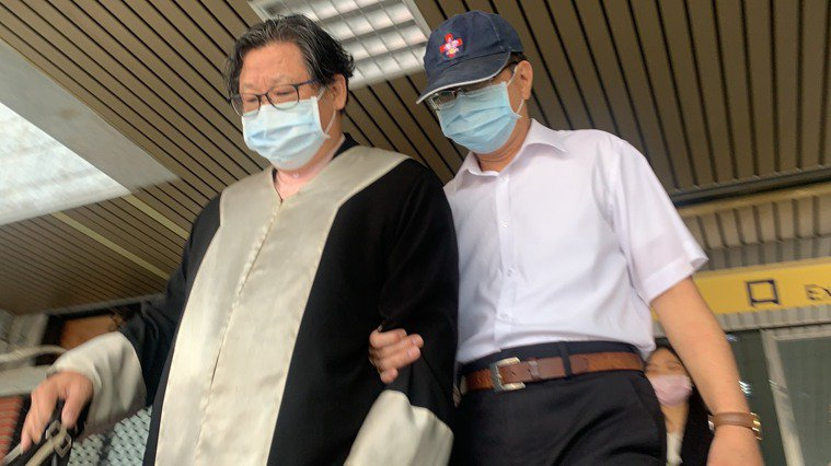 潘懷宗開庭自曝罹癌。記者蕭雅娟/攝影