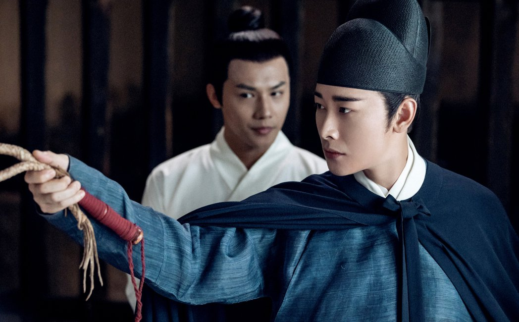 羅晉在「鶴唳華亭」中飾演太子。圖/緯來戲劇台提供