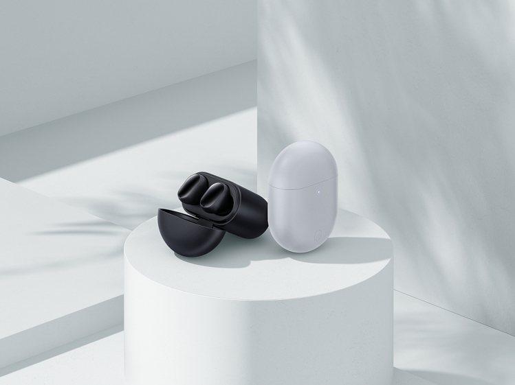 Redmi Buds 3 Pro降噪藍牙耳機提供冰晶灰、曜石黑2色,售價1,59...