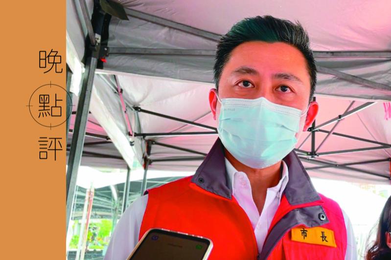 新竹市長林智堅拋出的「竹竹併」升格第六都,引起外界熱烈討論。記者張裕珍/攝影