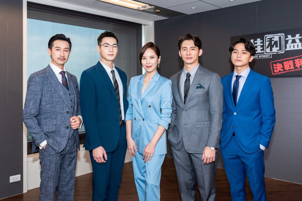 「最佳利益2」公布卡司,Darren邱凱偉(左起)、禾浩辰、天心、溫昇豪、楊銘威...