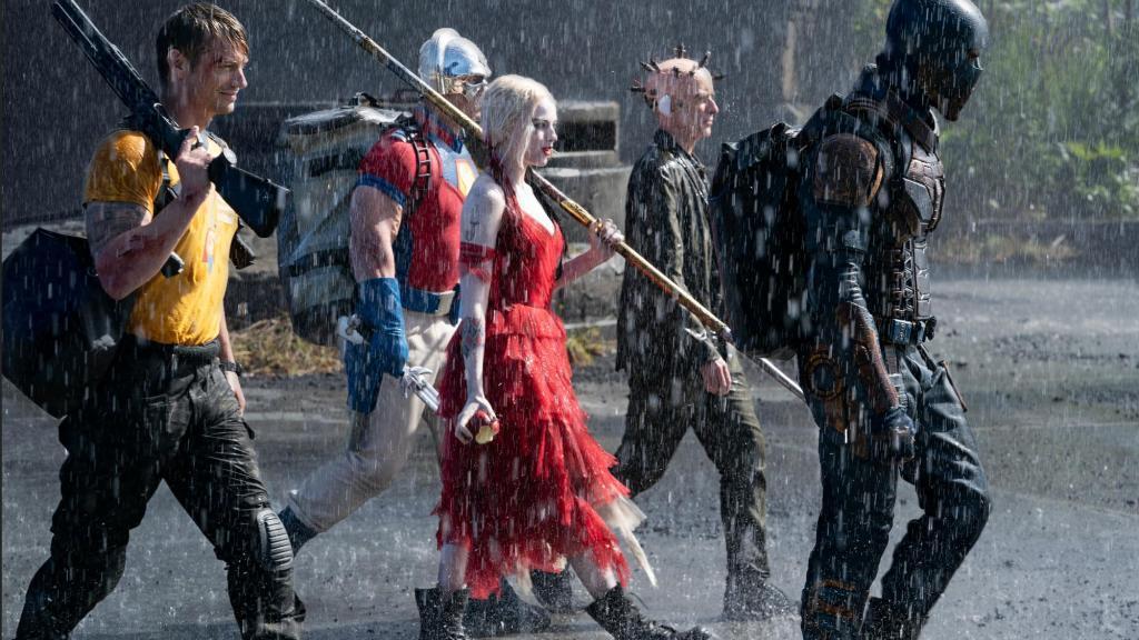 「自殺突擊隊:集結」是由各路反派組成的超級英雄電影。圖/myVideo提供