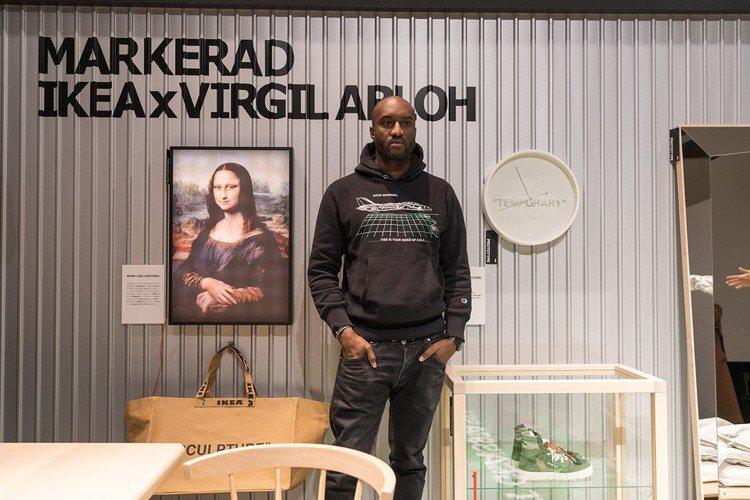IKEA帶大家到Virgil Abloh的工作室。圖/翻攝自IKEA