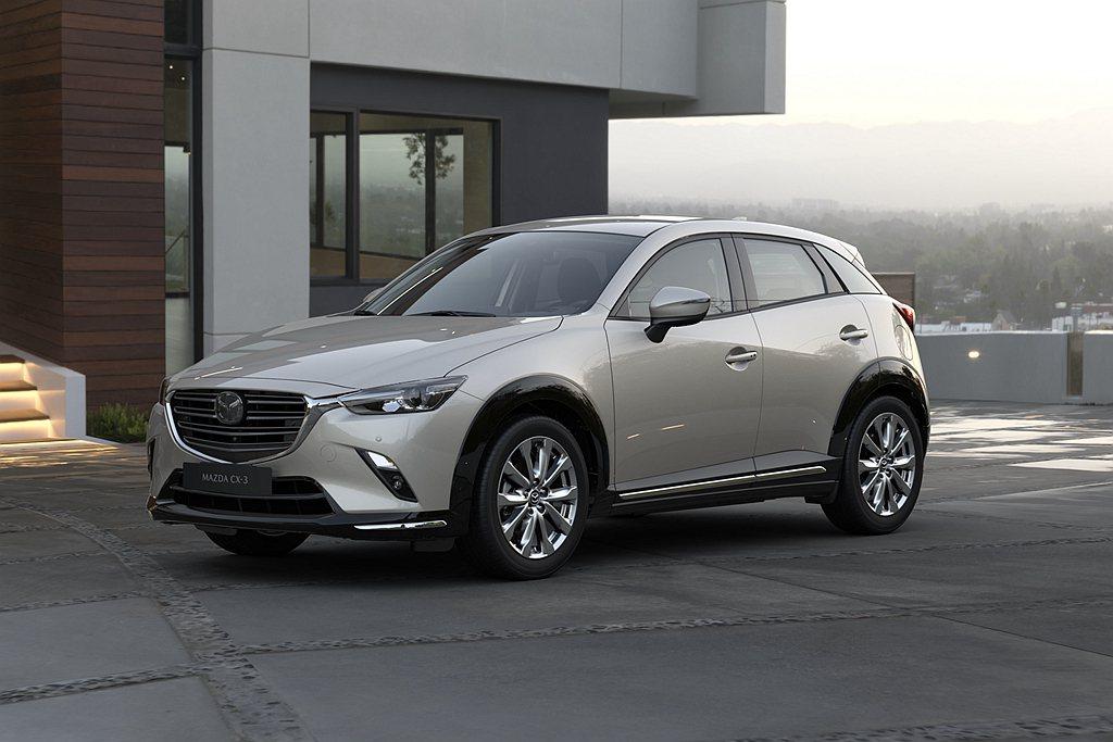 台灣馬自達推出2022年式Mazda CX-3,尊榮型售價調降1萬元至77.9萬...