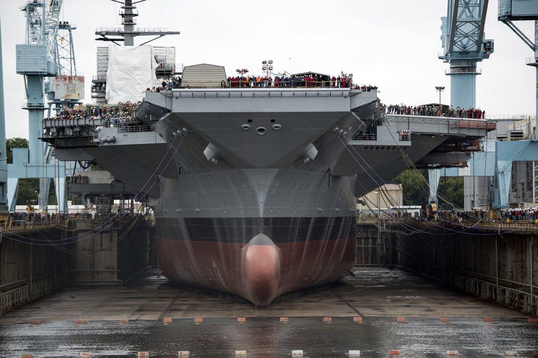 美國海軍福特號航空母艦。 圖/U.S. Navy