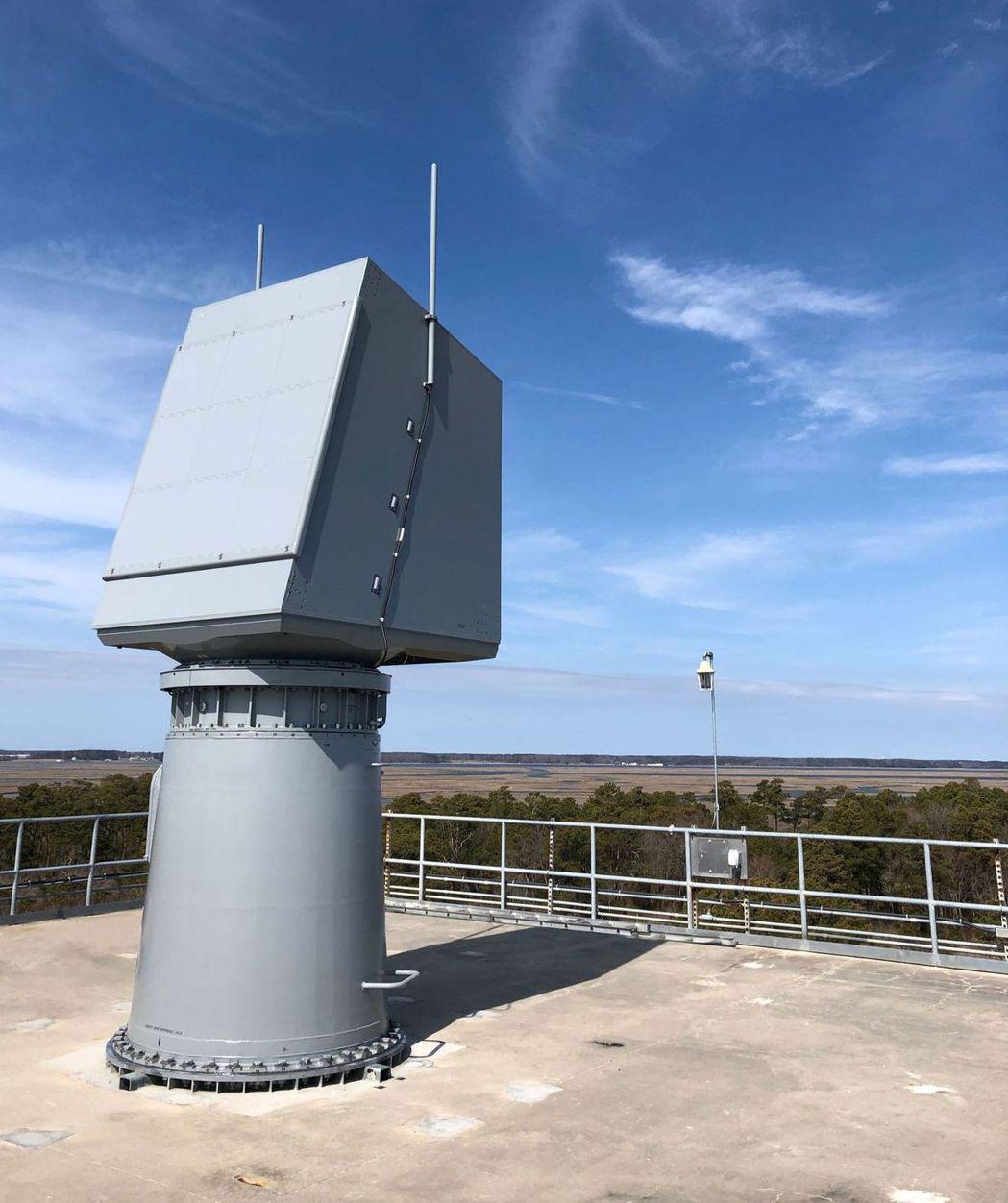 在維吉尼亞州測試的spy-6雷達。 圖/美國雷神公司