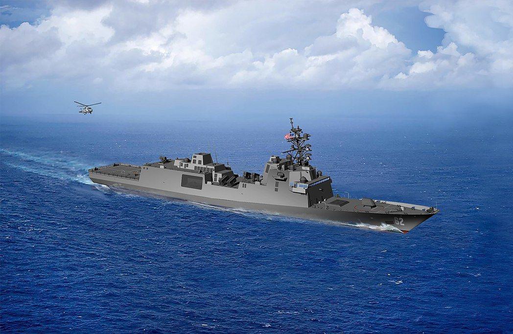 由於配備EASR雷達,星座級巡防艦的作戰及生存能力不但遠遠高於飽受批評的濱海戰鬥艦(LCS),更遠高於前代的派里級巡防艦。星座級巡防艦示意圖。 圖/U.S. Navy