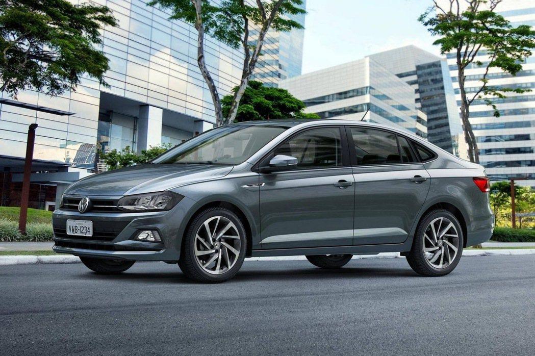 Volkswagen Virtus。 摘自Volkswagen