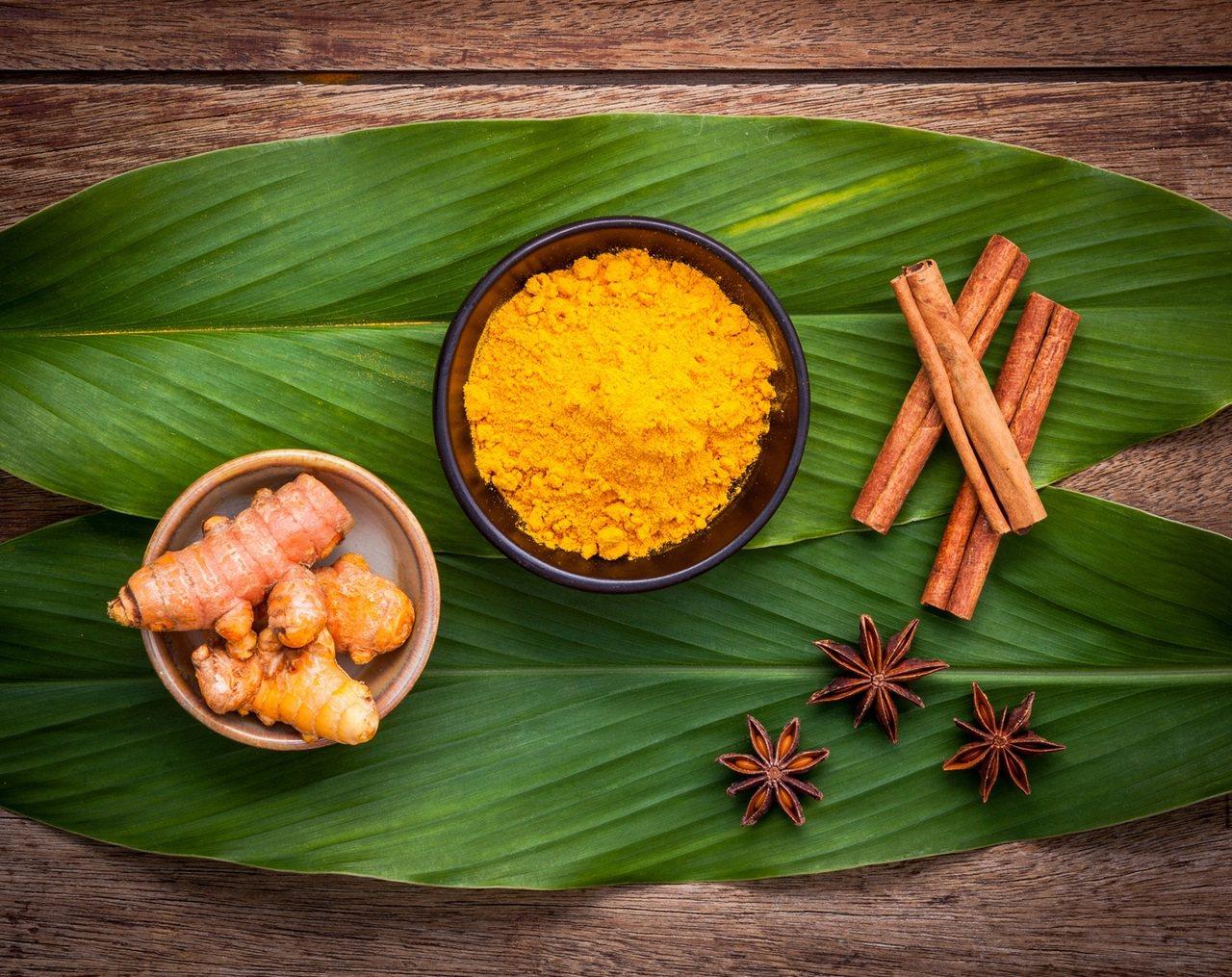 薑黃自古就作為養生使用,能幫助代謝。 圖/Shutterstock 提供