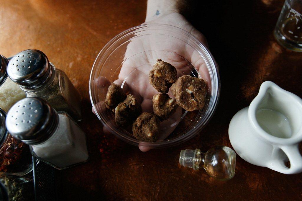 示意圖,圖為大麻餅乾。 圖/法新社