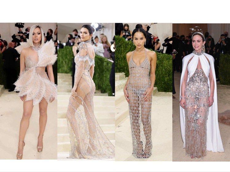 海莉史坦菲德、坎達爾珍娜、柔伊克拉維茲、艾蜜莉布朗穿出Met Gala最美的夢幻...