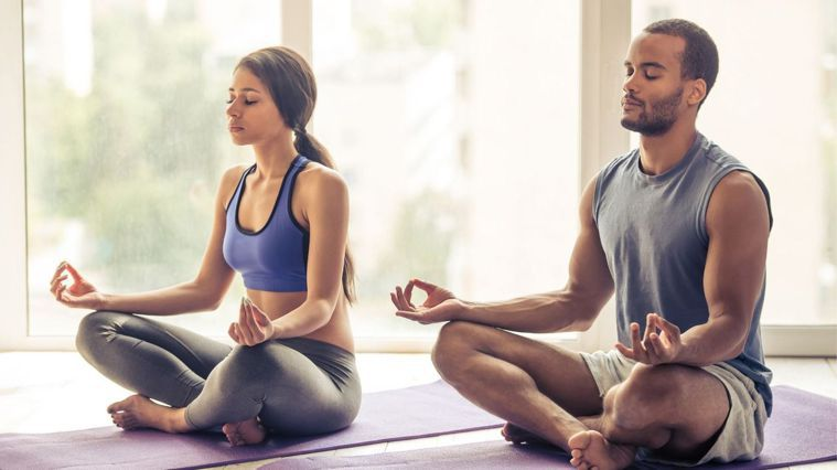 5招雙人瑜珈 找個伴一起放鬆(圖/Canva)