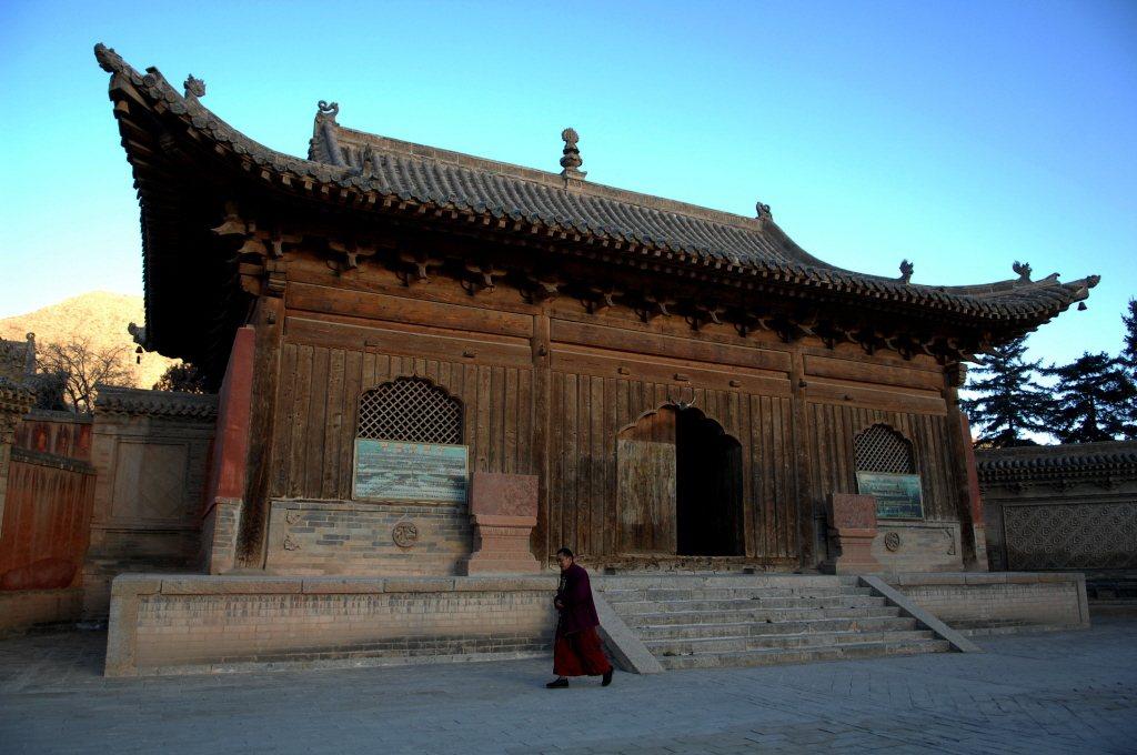 位在青海省的瞿曇寺是中國西北地區保存最完整的一組明代建築群。 圖/新華社