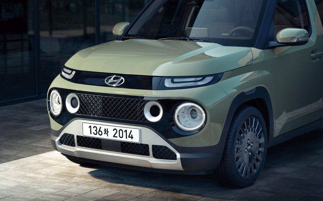 全新Hyundai Casper車頭。 摘自Hyundai